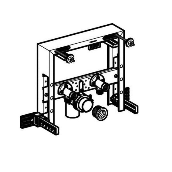 geberit kombifix montageelement f r wand bidet insani24. Black Bedroom Furniture Sets. Home Design Ideas