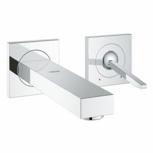 grohe eurocube joy 2 loch waschtisch wand armatur insani24 badshop. Black Bedroom Furniture Sets. Home Design Ideas