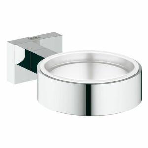 grohe essentials cube halter f r becher seifenschale seifenspender ch. Black Bedroom Furniture Sets. Home Design Ideas