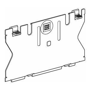 geberit schutzplatte zu up sp lkasten sigma 12 cm. Black Bedroom Furniture Sets. Home Design Ideas