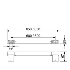 keuco plan badetuchhalter insani24 badshop. Black Bedroom Furniture Sets. Home Design Ideas